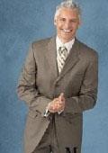 Mens 3 Button Suit