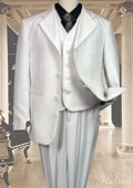 3pc Solid Suit With