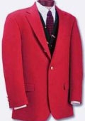Women RED sport coats
