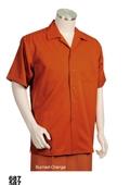 Orange Casual Shirt