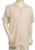 Taupe Casual Shirt