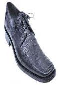 Navy Alligator Shoes