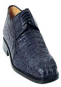 Men's Navy Genuine Caiman