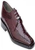 Burgundy Alligator Skin shoes