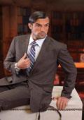 Mens Brown Suit