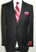 Stripe Suit By Mantoni