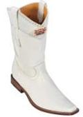 Mens white cowboy boots