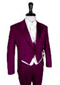 150's Burgundy Peak Tailcoat