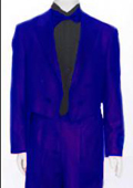 Tail Peak Lapel Royal