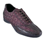Mens Burgundy Shoes