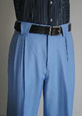 Wide Leg Pants Blue