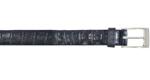 Alligator skin belts