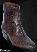 Ostrich Leg Dressy Boots