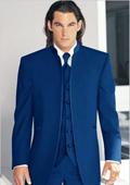 Navy Blue Tuxedo Vest