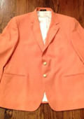 Orange Blazer $189