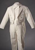 Ivory Tuxedo with Tailcoat