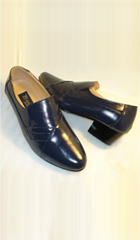 Mens Shoes Navy Color
