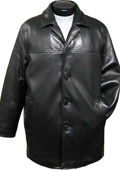 Traditional 4-Button Carcoat Black