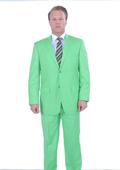 Mens Green Suit