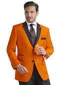 Bright Solid Color Suit