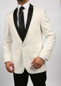 Cream & Black Shawl Tuxedo