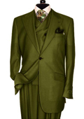 3 Piece Olive Green