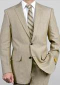 2-Btn Linen Suit