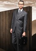 Mens Charcoal Suit