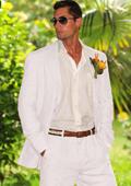 White Summer Suit