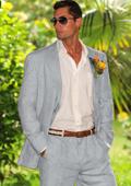 Light Gray Summer Suit