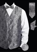 Men's 4 Piece Vest Set