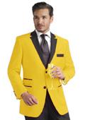 Mens Yellow Tuxedo
