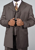 3 Piece Suit- Brown