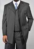 3 Piece Suit- Black