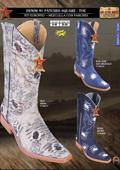 Exotic cowboy boots
