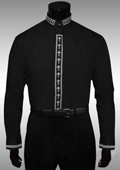 Mens Black Dress Shirt