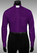 Mens Purple Dress Shirt