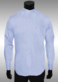 Mens Baby Blue Dress Shirt