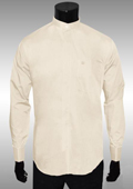 Mens Ivory Dress Shirt