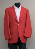 2 Button Blazer Red
