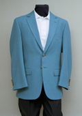 2 Button Blazer Seafoam