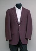 Men's 2 Button 100% Poly Blazer