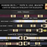 Cowboy diamond belts
