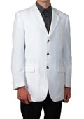 Mens White Suits