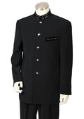 Black Nehru Suit