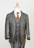 5 Piece Sharkskin Suit
