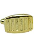 Plated Curved Rectangular Cuff