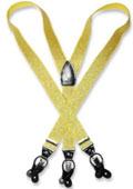 Metallic Gold Color Suspenders