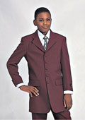Church Suit Burgundy ~