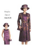 Dress Set Purple/Gold $139
